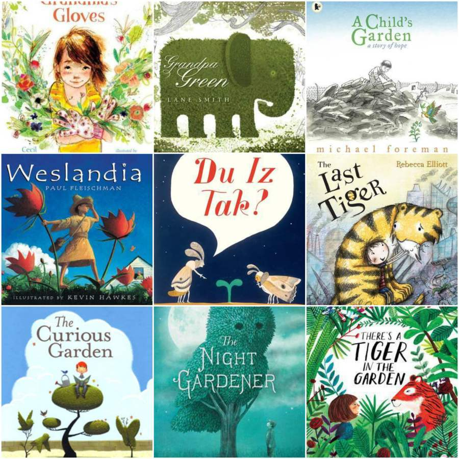 The power of gardens in children's picture books. A list of favourite titles